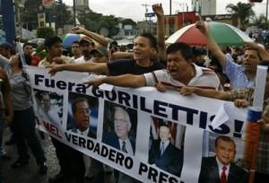 La derecha hondureña insiste en negar el golpe de Estado