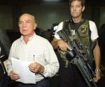 Pedro Carmona, durante el golpe de abril de 2002.