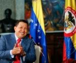 Hugo Chávez Frías, Banderas Venezuela y Colombia