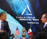 Cumbre América del Norte, Obama, Calderón. Guadalajara 2009