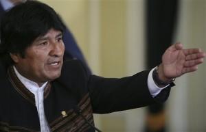 Rechaza Evo Morales la presencia de fuerzas militares extranjeras
