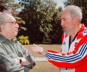 García Márquez y Fidel Castro, en una imagen reciente.