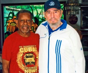 Lucius Walker y Fidel Castro