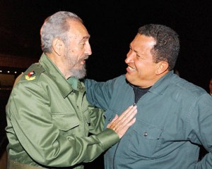 Fidel y Chávez. (Foto: Archivo de Cubadebate)