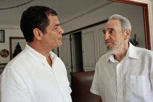 Vicepresidente de Ecuador destaca solidaridad de Fidel Castro en temas de salud