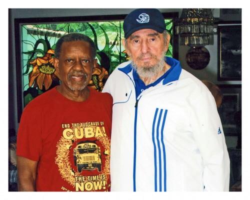 Lucius Walker y fidel en agosto de 2009