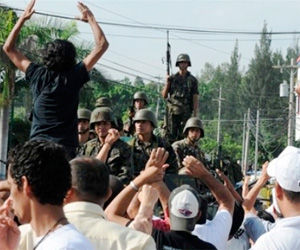 Manifestaciones Golpe Estado Honduras