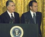 El dictador Médici y Richard Nixon. (Foto: Archivo de Seguridad Nacional)