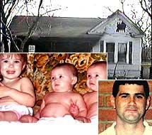 Cameron Todd Willingham y sus hijos