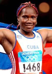 Osleydis Menendez jabalinista cubana - Mundial Atletismo