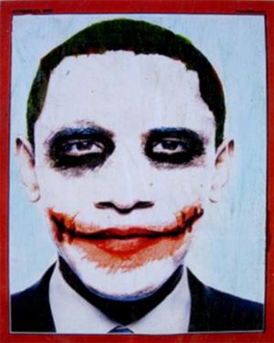 Poster Joker Obama