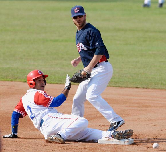 Juego Cuba - Estados Unidos, final de la Copa Mundial de Beisbol 2009