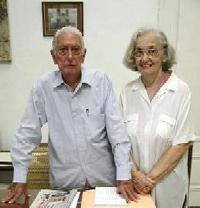 Cintio Vitier y Fina García Marruz, en el momento en que se produjo esta entrevista, en marzo de 2007.