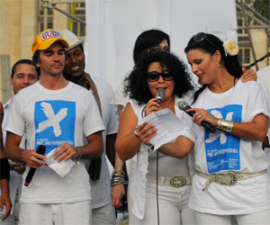 Gran cierre del Concierto Paz sin Fronteras (Fotos Jorge Legañoa)