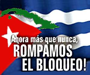 Condena Bloqueo Cuba