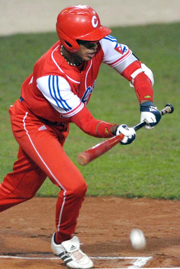 Juego Cuba - Taipei de China en la Copa Mundial de Beisbol