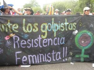 feministas-resistencia-hondura