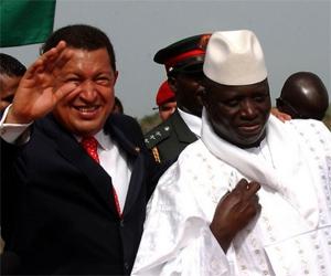 Hugo Chávez África África. Foto de Archivo