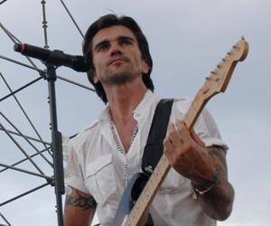 Juanes en el concierto Paz sin Fronteras