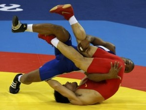 Conquista luchador cubano Salas medalla de bronce mundial
