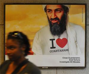 "Osama Bin Ladem ""I Love Guantánamo"""