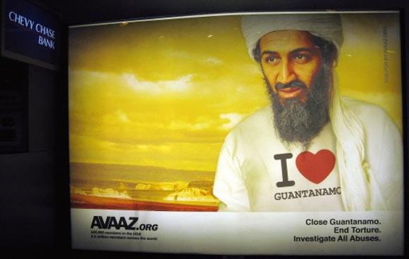 "Osama Bin Ladem ""I Love Guantanamo"""