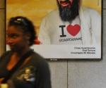 Imagen que aparecía en el Metro de Washington.