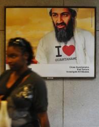 Imagen que aparece en el Metro de Washington.