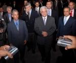 Mahmud Abás, Presidente del Estado de Palestina, llega a Cuba