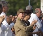 Raul Castro en el acto de Ciudad Libertad