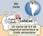 Sismo 6.2, Caracas