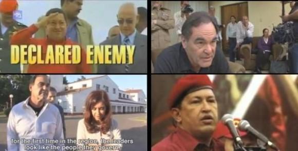 Imágenes del documental de Oliver Stone, 'Al sur de la frontera'.