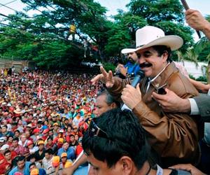 Zelaya está en Honduras