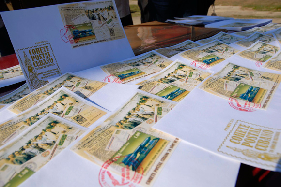 Cancelación de sello postal