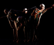 Presentación del Ballet Contemporáneo Endedans en el Teatro Tomás Terry de Cienfuegos