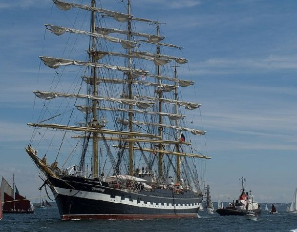 Impresionante velero ruso llegará a Cuba en abril