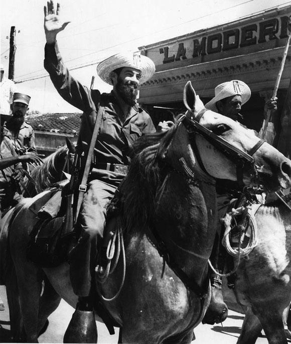 Raúl Castro y Camilo Cienfuegos (Foto Perfecto Romero)