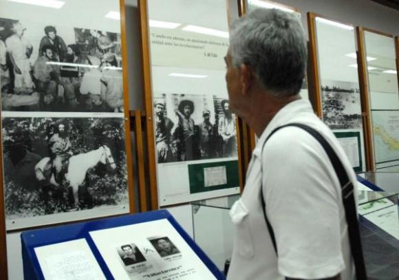 El remontaje de las salas del Museo hace más sugerente e interesantes las visitas a la institución, en Yaguajay, Sancti Spíritus, Cuba, el 21 de octubre de 2009. AIN/ FOTO Oscar ALFONSO SOSA