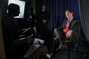 Canciller Bruno Rodriguez en una entrevista para la AP, 28 de octubre de 2009. (Foto: AP)