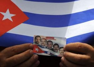 Caso de los Cinco cubanos presentado durante protesta contra Escuela de las Américas