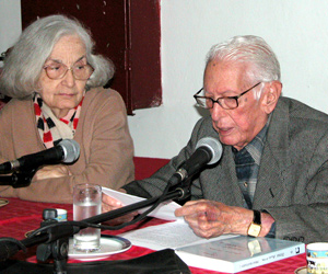 Fina y Cintio Vitier, quien habría acogido este premio con emoción.