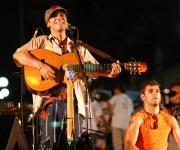 Cantante francoespañol Manu Chao