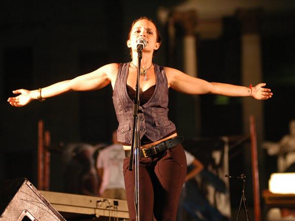 Cantante cubana Diana Fuentes
