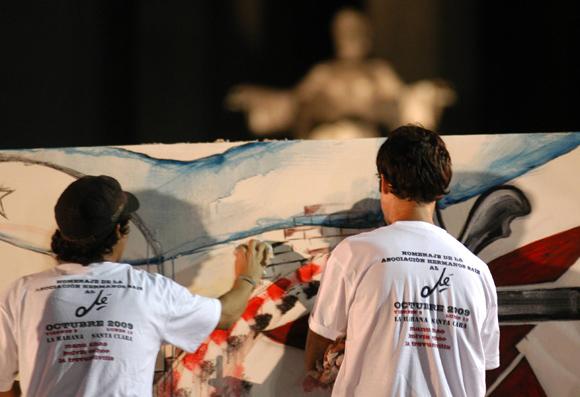 Jóvenes pintores cubanos