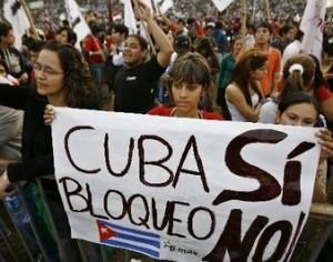 El mundo contra el bloqueo de Estados Unidos a Cuba