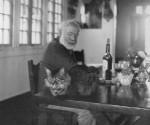 Ernest Hemingway en Finca Vigía, Cuba.