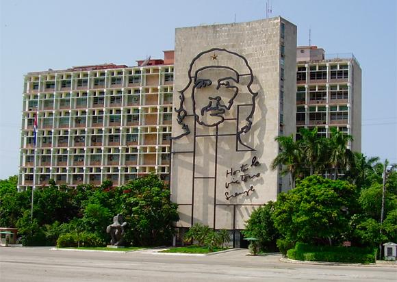 Ernesto Che Guevara, Plaza de la Revolución (Foto Archivo)