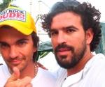 Juanes y Ernesto en el Concierto Paz sin Fronteras