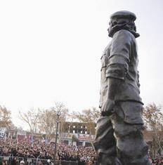 Estatua de Che Guevara en Rosario