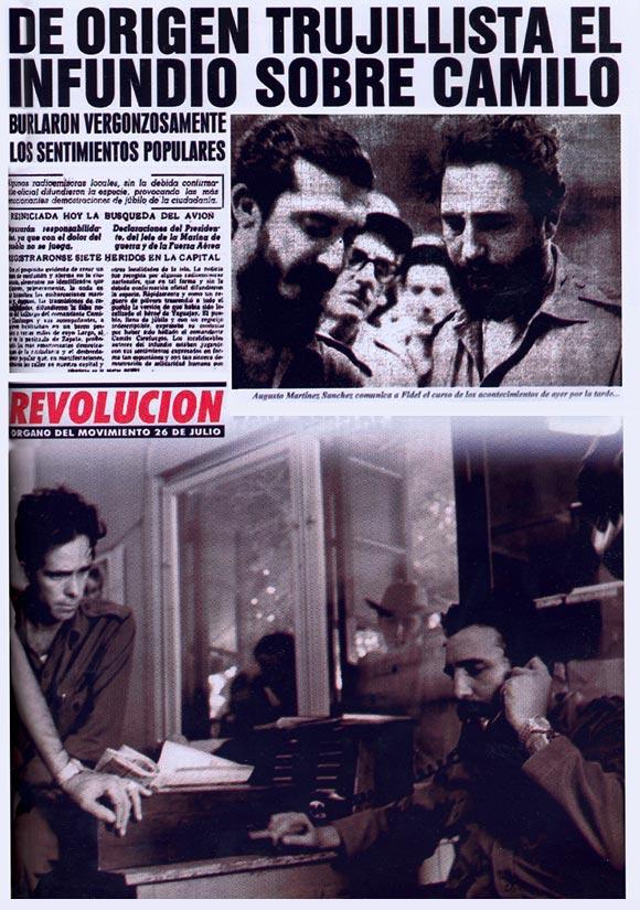 Búsqueda de Camilo Cienfuegos